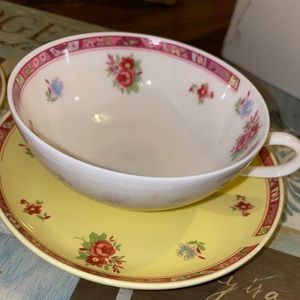 C.I. A Plate and Cup set